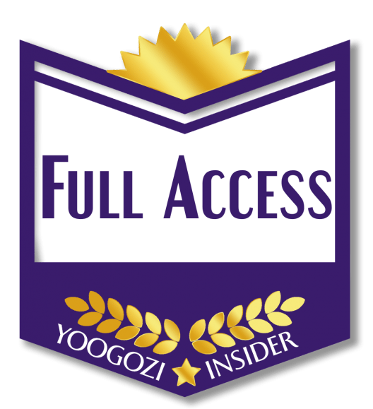 yoogoziINSIDER Full Access Level