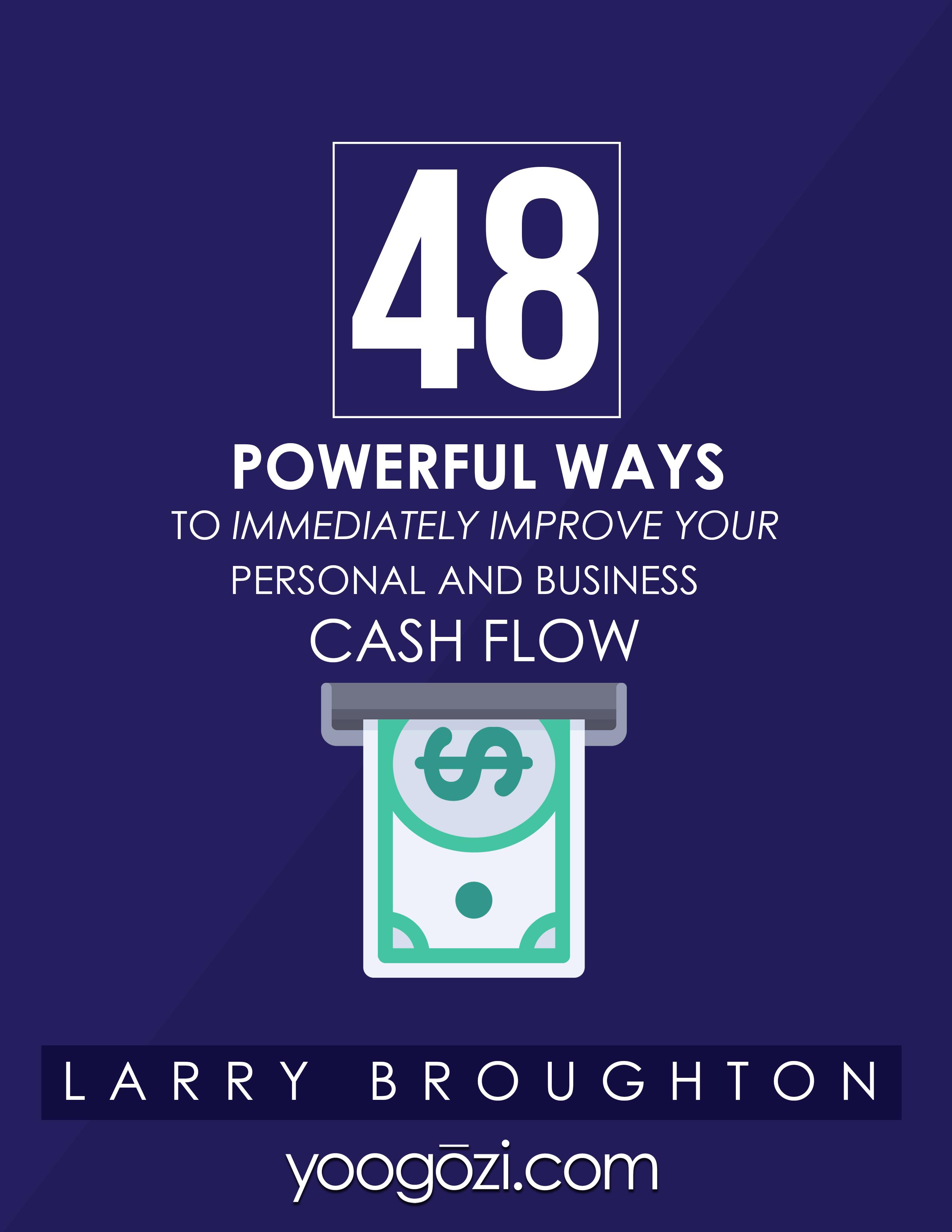 48 Powerful Ways to Improve Cash Flow