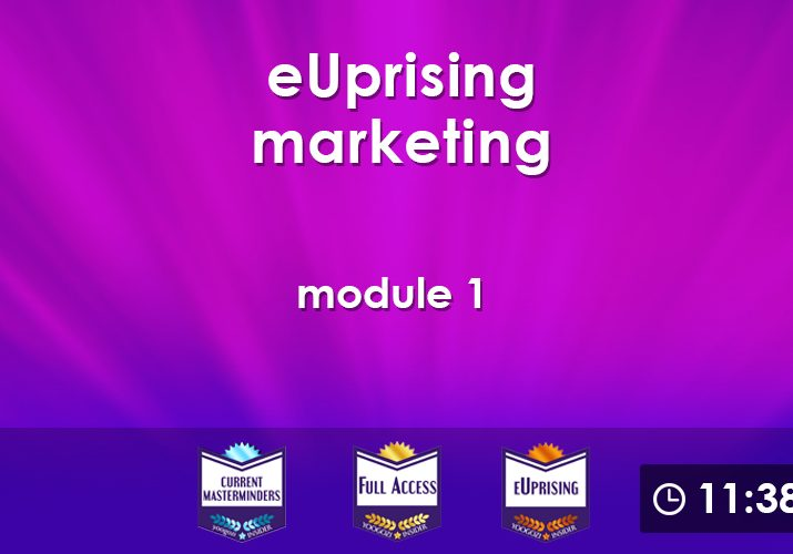 eUprising Marketing Mod 01