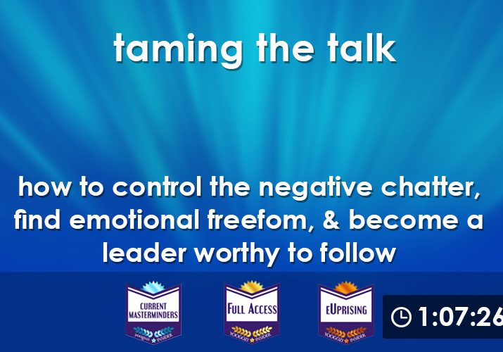 taming talk webinar c with clock
